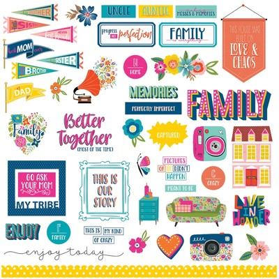 Photoplay - Wicker Lane - Element Sticker Sheet