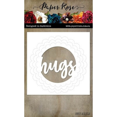 Paper Rose - Hugs Circle Die Set