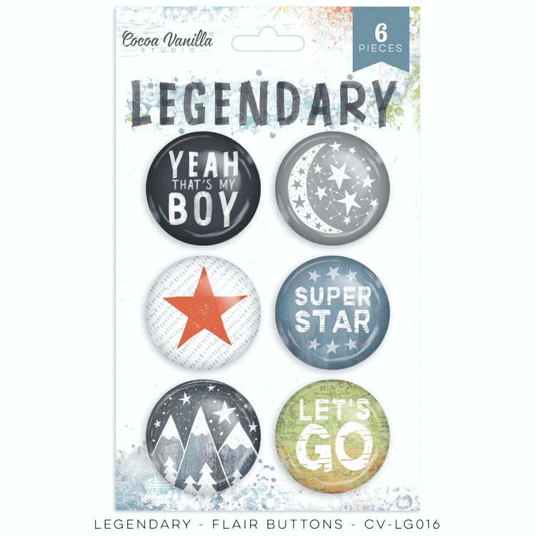 Legendary - Flare Buttons