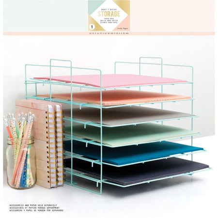 Crate Paper - Desktop Storage Paper Rack