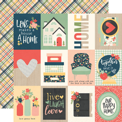 So Happy Together - 3x4 Elements Cardstock