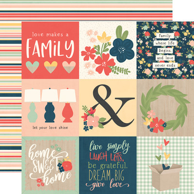 So Happy Together - 4x4 Elements Cardstock