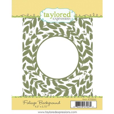 Foliage Background Stamp