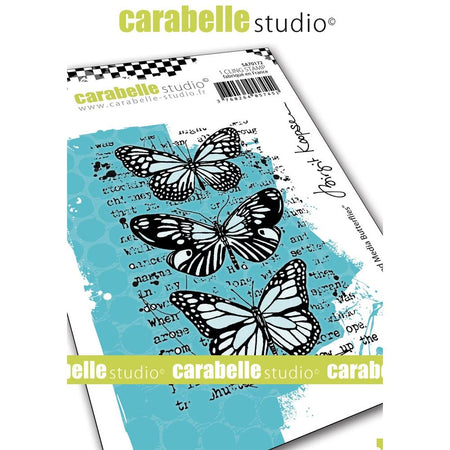 Carabelle Studio - Mixed Media Butterflies Stamp