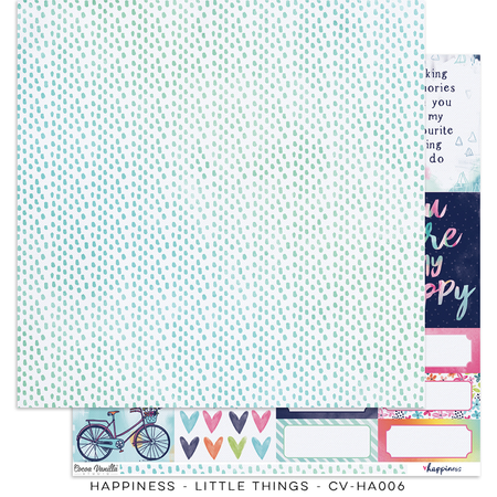 Happiness - Little Things Cardstock