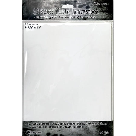 Tim Holtz - Distress White Heavystock