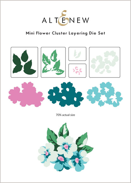 Altenew - Mini Flower Cluster Layering Die Set