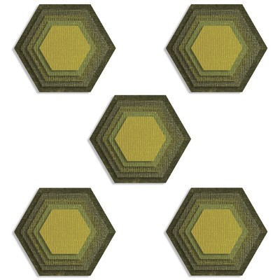 Sizzix Thinlets - Stacked Tiles - Hexagons