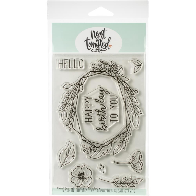 Neat & Tangled - Floral Frames Stamp Set