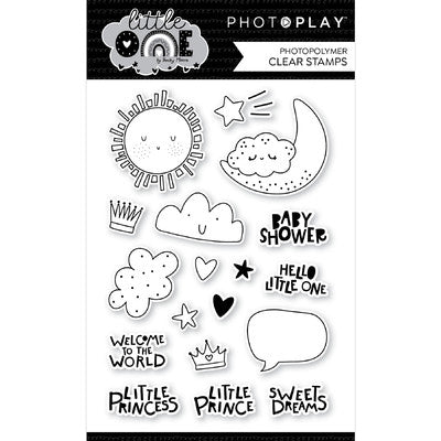 PhotoPlay - Little One - Icons Stamp & Die Combo