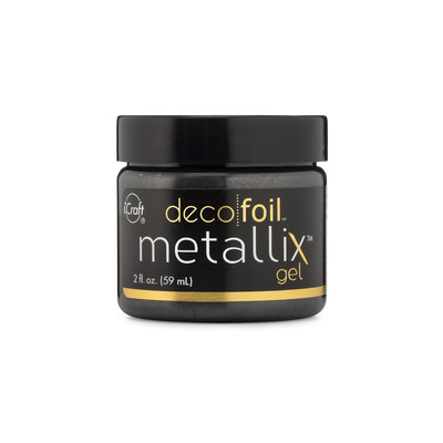 Deco Foil Metallix Gel - Black Ice