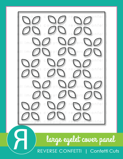 Reserve Confetti - Large Eyelet Cover Panel Confetti Cuts