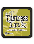 Crushed Olive Mini Distress Ink
