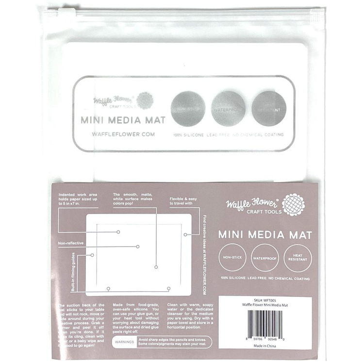 Waffle Flower - Mini Water Media Mat