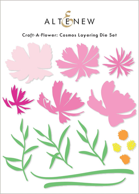 Altenew - Craft-A-Flower - Cosmos Layering Die