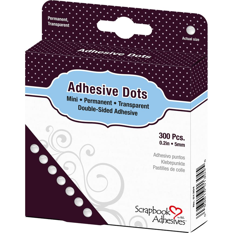 Scrapbook Adhesives - Adhesive Dots - Mini