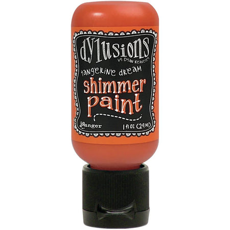 Dylusions Shimmer Paint - Tangerine Dream