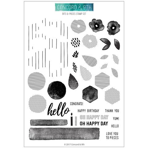 Bits & Pieces Stamp Set
