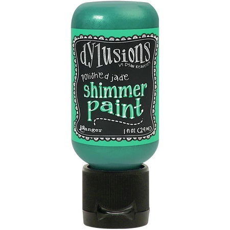 Dylusions Shimmer Paint - Polished Jade