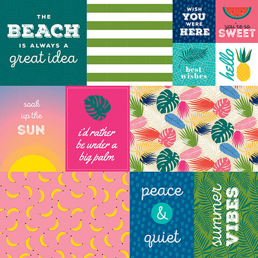Island Escape Daily Details Cardstock