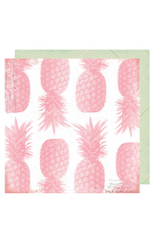 Heidi Swapp Pineapple Crush Cardstock - Pineapple Crush