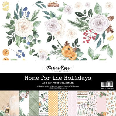 Paper Rose - Paper Collection - Home for the Holidays