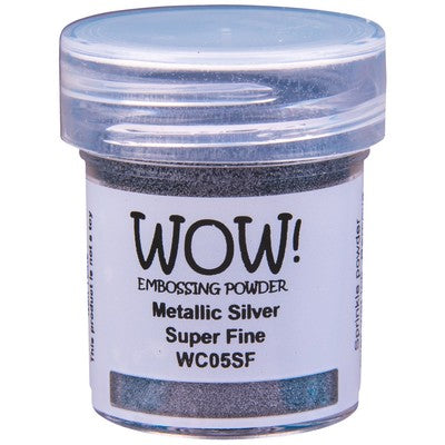WOW! - Metallic Silver Super Fine Embossing Powder