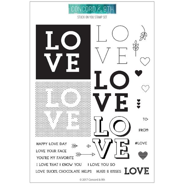 Love You So Stamp Set