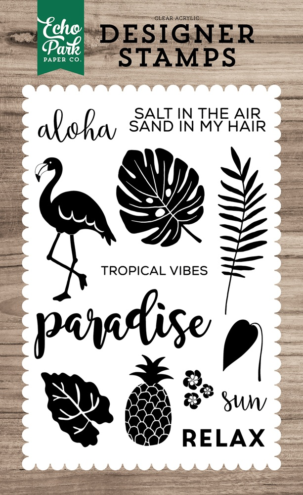 Tropical Vibes Stamp Set