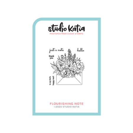 Studio Katia - Flourishing Note Stamp & Die Combo