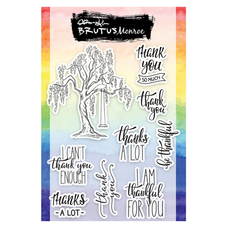 Brutus Monroe - Tree of Thanks Stamp Set