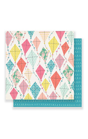 Maggie Holmes Carousel Cardstock - Summertime