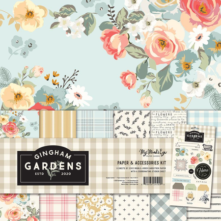 My Mind's Eye - Gingham Gardens - Collection Kit