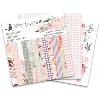 P13 - Love in Bloom - 12x12 Paper Pad