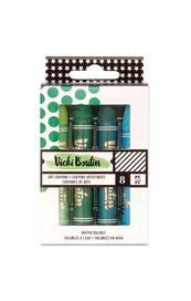 Vicki Boutin Art Crayons Set 2 - Cool