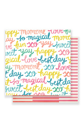 Maggie Holmes Carousel - Happy-Go-Lucky Cardstock