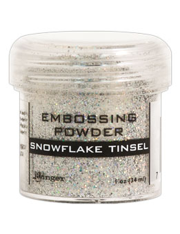 Ranger - Snowflake Tinsel Embossing Powder