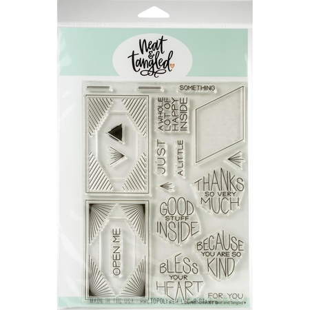 Neat & Tangled - Thanks So Much Stamp Set