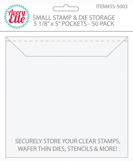 Avery Elle - Small Stamp & Die Storage Pockets