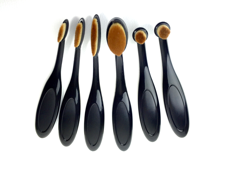 Life Changing Blender Brushes - 6 Piece Fine