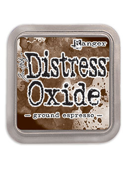 Ground Espresso Distress Oxide Ink