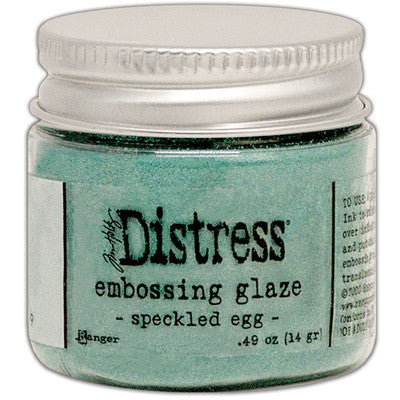 Distress Embossing Glaze - Speckled Egg