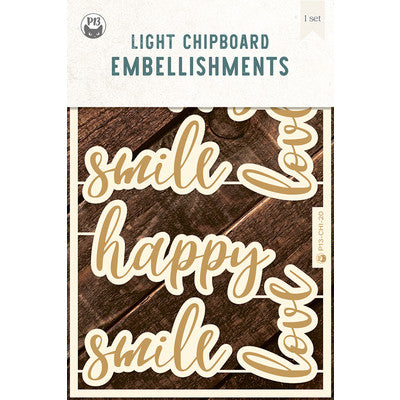 P13 - Chipboard Embellishments - Words 01