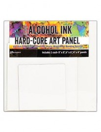 Alcohol Ink Hard Core Square Art Panels