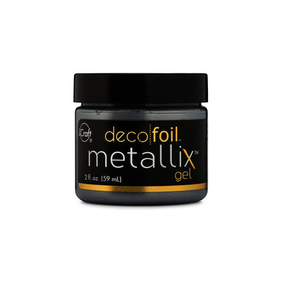 Deco Foil Metallix Gel - Glazed Pewter