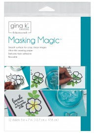 Gina K. - Masking Magic Sheets