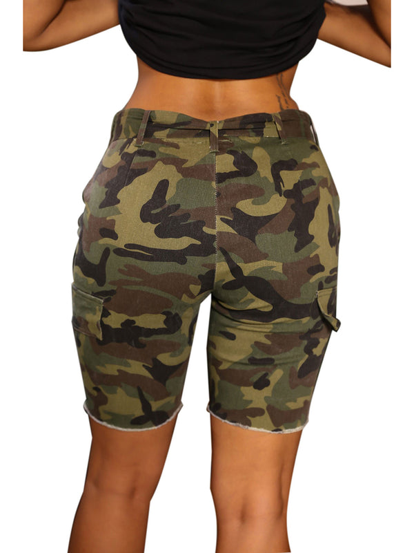 Camouflage Women's Shorts