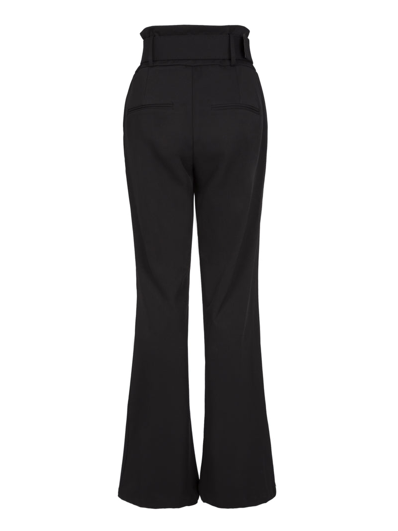Slim Wide Leg High-Waist Women's Casual Pants