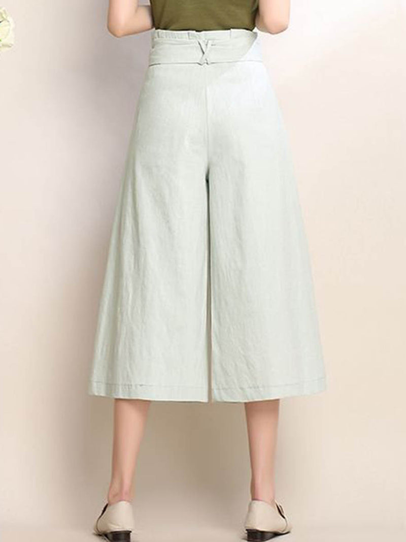 Loose Bowknot Women's Pants