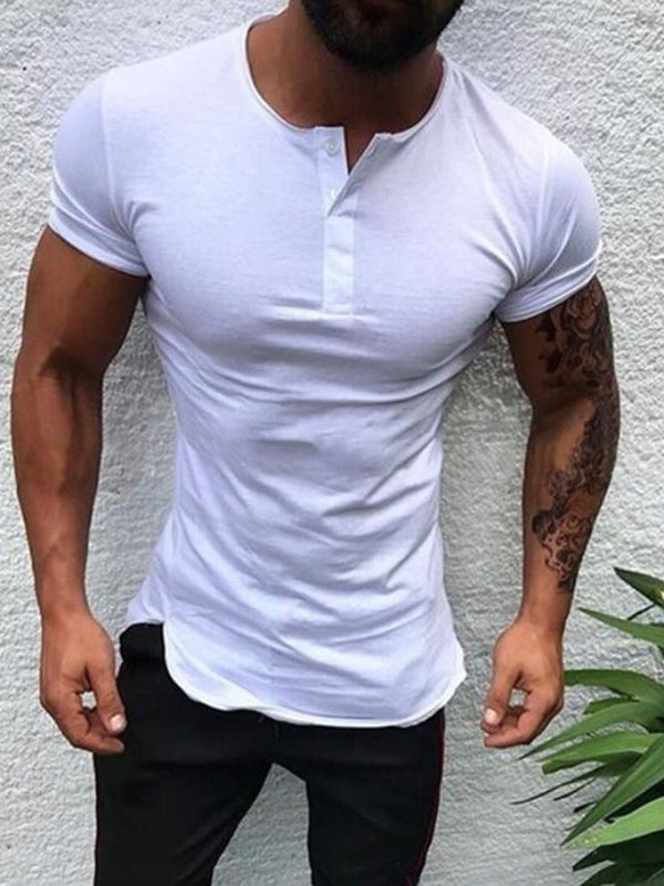 T-shirt Homme Slim Manches Longues